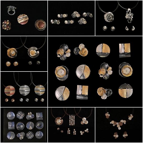 Orecchini, collane e bijoux dipinti a mano estate vendita a Genova