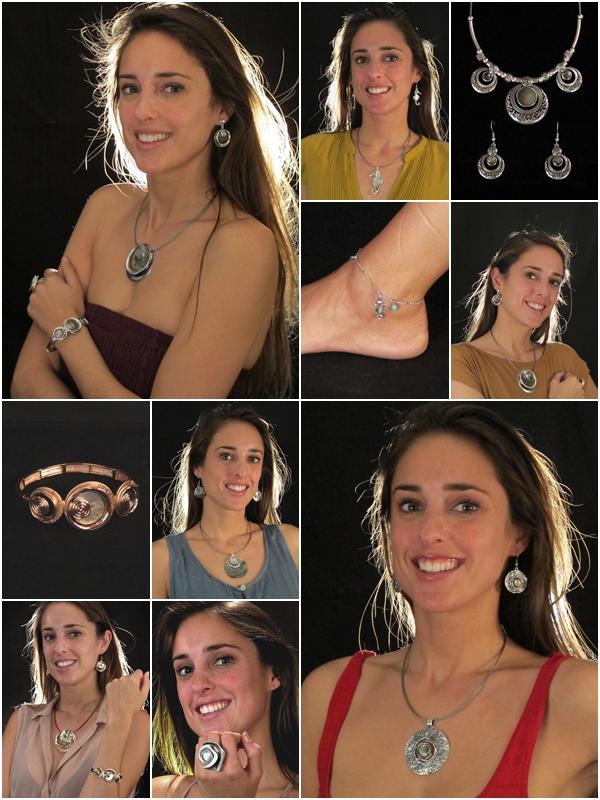 Bracciali, collane, orecchini in zama e conchiglia vendita a Genova