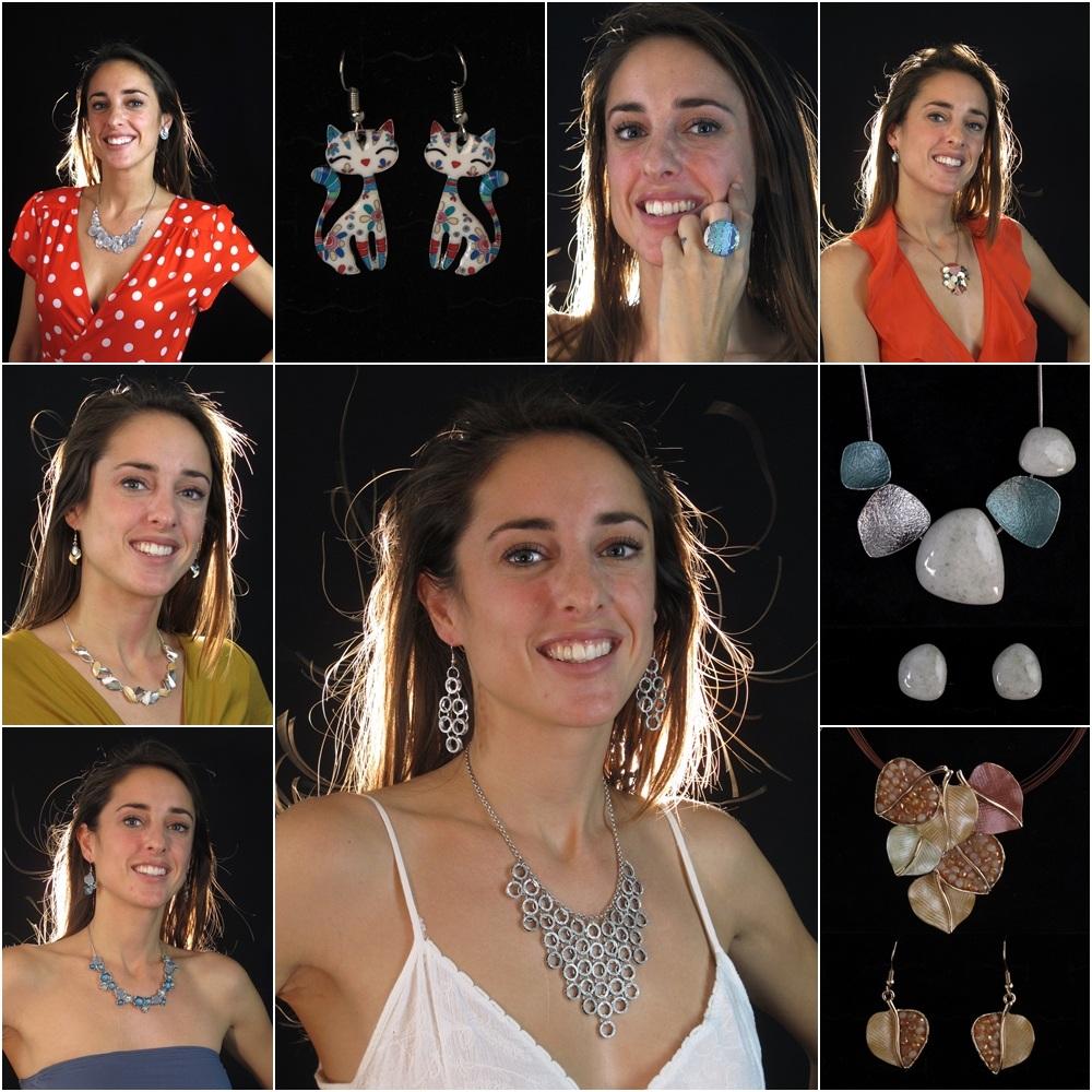 Vendita Bijoux in metallo e colore per estate all'ingrosso a Genova