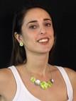 collana colorata di bigiotteria